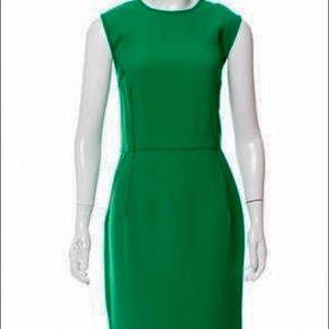 Authentic Lanvin Green Dress w/ Tags Sz FR 40 M